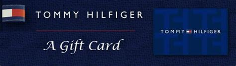Tommy Hilfiger Gift Card Usa - one of two 50 tommy hilfiger gift card contest website