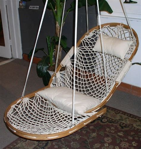 Patio Swing With Footrest Single Cobble Mountain Swing With Footrest