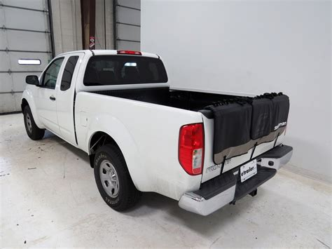 nissan frontier swagman tailwhip tailgate pad and bike