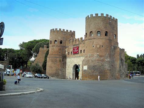 porta san paolo rome file roma ostiense porta san paolo jpg wikimedia commons