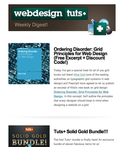 website newsletter tutorial join the webdesigntuts newsletter and get an exclusive