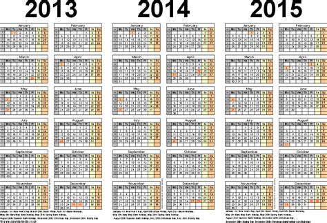 Calendar 2014 And 2015 Three Year Calendars For 2013 2014 2015 Uk For Pdf