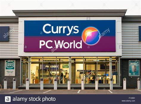 Currys PC World store, UK Stock Photo, Royalty Free Image: 87244389   Alamy