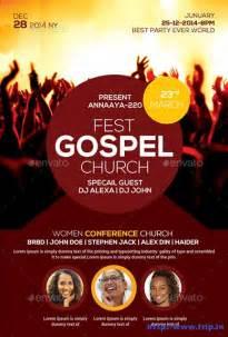 gospel flyer template gospel church flyer template church graphic design
