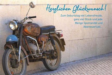 Motorradfahren Cool by Geburtstagskarte M 228 Nner Herzlichen Gl 252 Ckwunsch Motorrad
