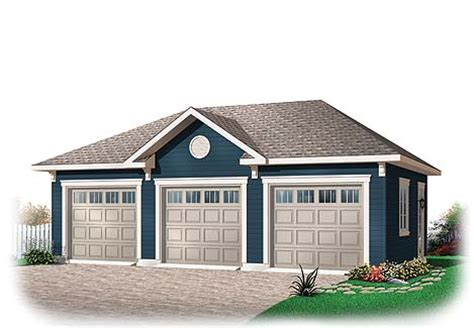 3 Door Garage Plans by 8 Detached Garages Every Dreams Of Dfd House Plans