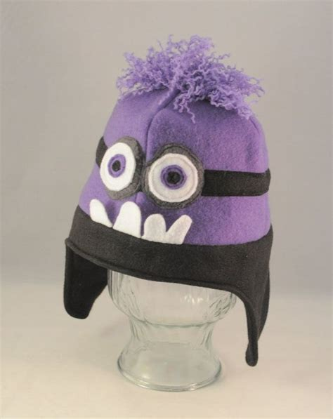 Purple Minion Hat Fleece | 130 best images about summer minion party on pinterest