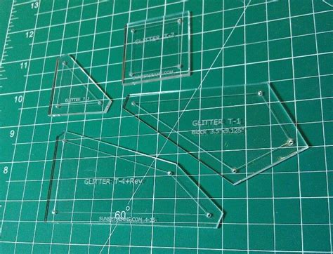 quilting plastic templates 10 best acrylic quilting templates images on