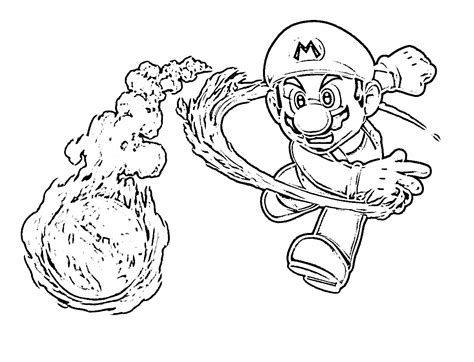 free ausmalbilder mario coloring pages