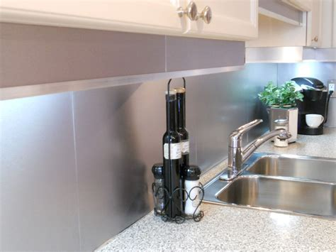 kitchen design idea install a stainless steel backsplash kitchen stainless steel backsplash ideas decor trends