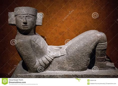 imagenes sensoriales en chac mool estatua de mesoamericano chac mool foto de archivo