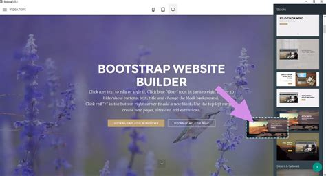 layout bootstrap builder free and awesome bootstrap builder