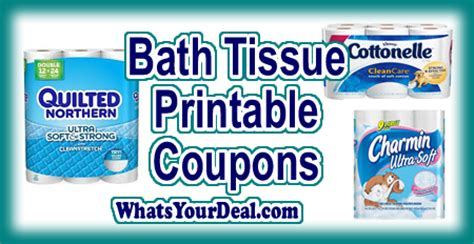 print all the bath tissue printable coupons 1 1 quilted