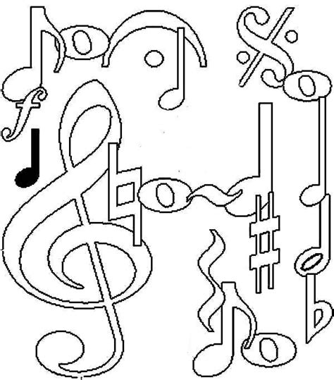 coloring page for music music notes coloring pages az coloring pages