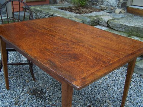 8127 country pumpkin pine made kitchen table for