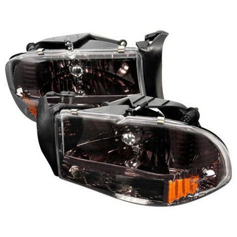 2003 dodge dakota headlights 97 03 dodge dakota chrome housing style reflector