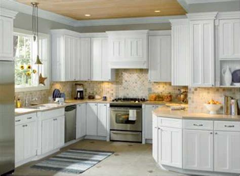 Kitchen Backsplash Ideas With White Cabinets Decorations 41 White Kitchen Interior Design Decor