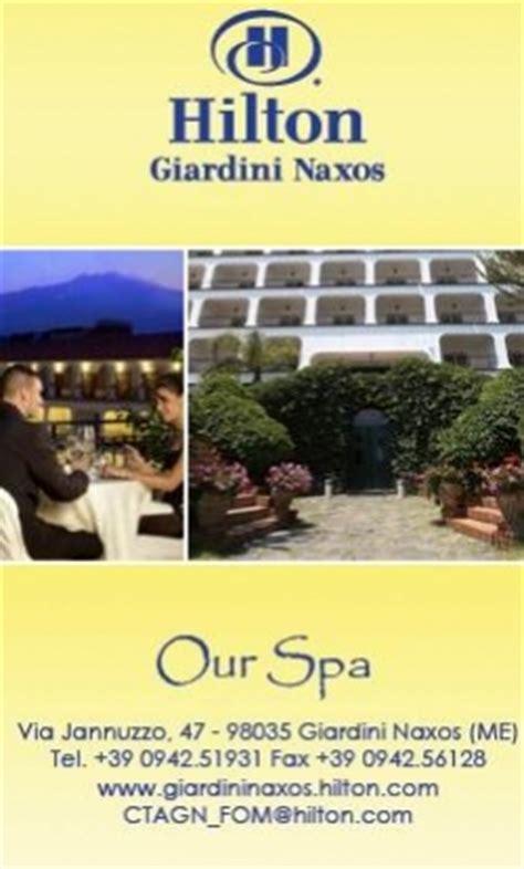 giardini naxos centro benessere sicilydistrict news hotel resort b b 2010 2011