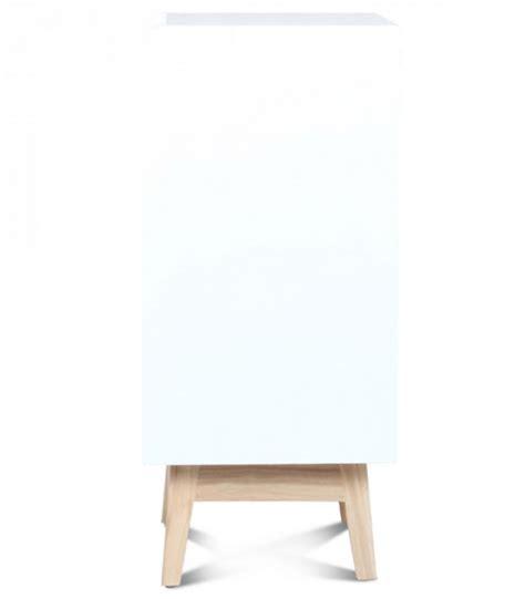 Table De Chevet Bois Blanc by Table De Chevet Design En Bois Blanc