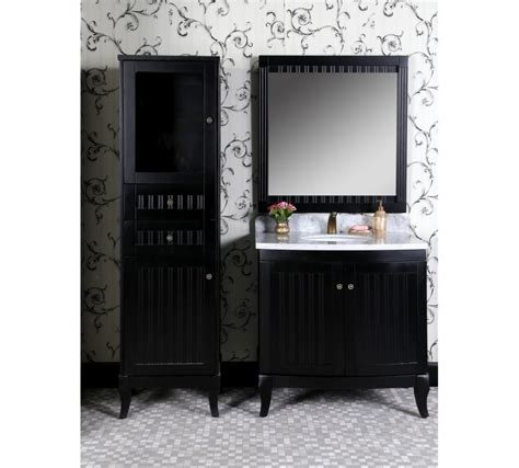 36 Inch Black Bathroom Vanity by Classic 36 Inch Traditional Single Sink Bathroom Vanity