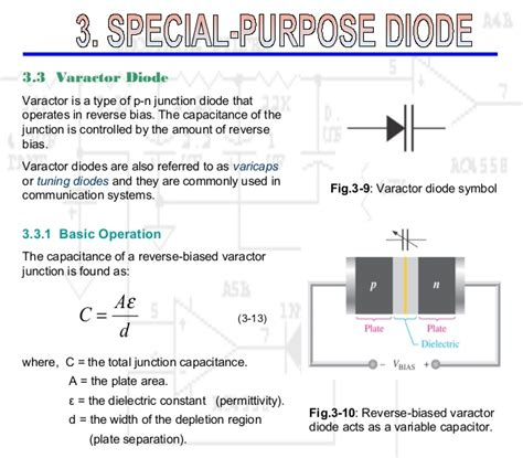 basics of diodes special purpose diode