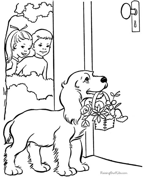st valentine coloring page 004
