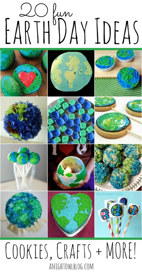earth day craft ideas for 20 earth day ideas a owl
