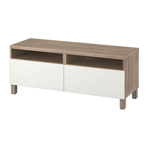 tv bench with drawers best 197 tv unit with drawers gray stained walnut eff clear