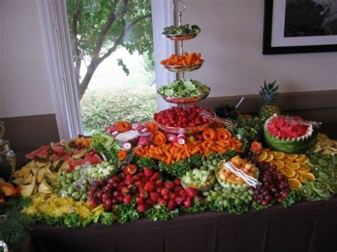 fruit table for wedding reception wedding fruit displays photo gallery photo of a fruit