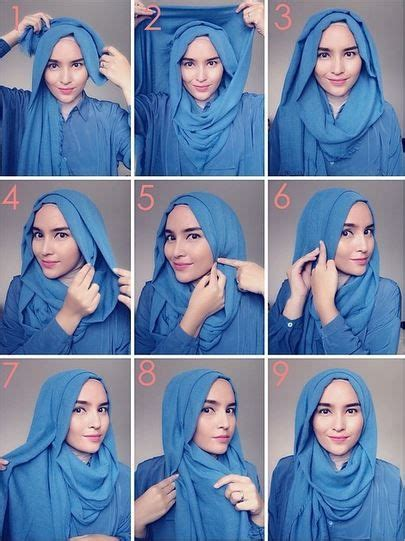 tutorial pashmina loose style 238 best images about hijab tutorial on pinterest simple