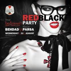 Black Red And White Bedrooms - ra red and black party at bedroom at bedroom pavillion kuala lumpur 2011