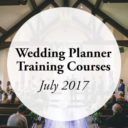 wedding planner courses july 2017 aacwp