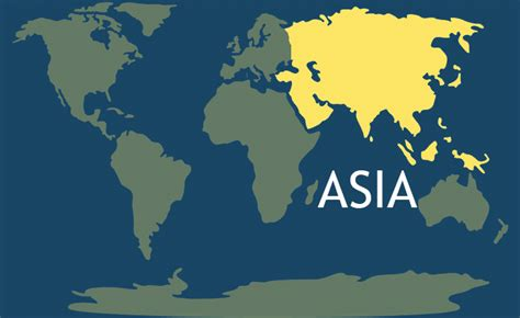 asia s 7 continents of the world interesting facts maps resources