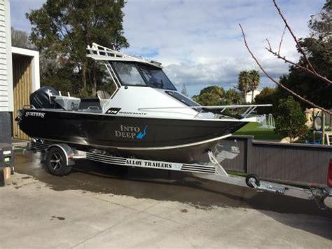 aluminum boat trailers nz boat trailers aluminium or galvanized the fishing