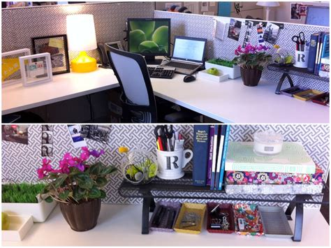 Cubicle Ideas Ask Annie How Do I Live Simply In A Decorate Office Desk