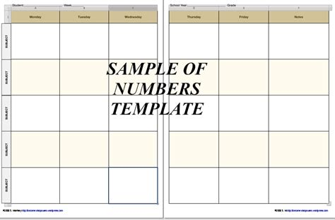 homeschool lesson planner template free free homeschool planner pages in iwork 09 formats now