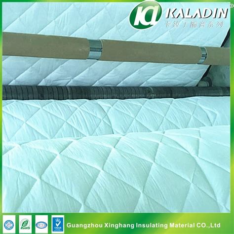 sound absorbing material car interior quilted cotton