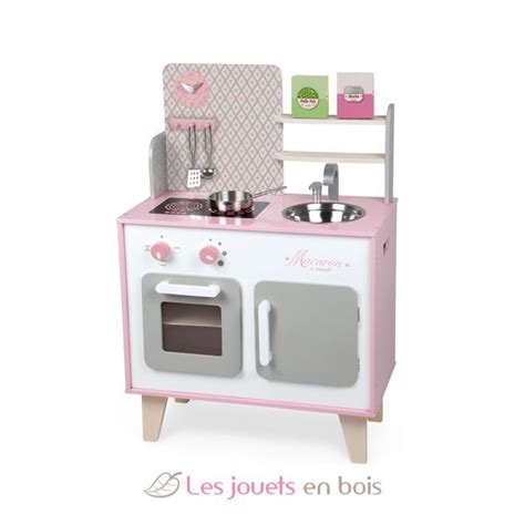 cuisine janod bois maxi cuisine macaron janod 06567 cuisine en bois pour