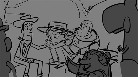 storyboards layout animation final lighting toy story of terror sneak peek see the evolution of a