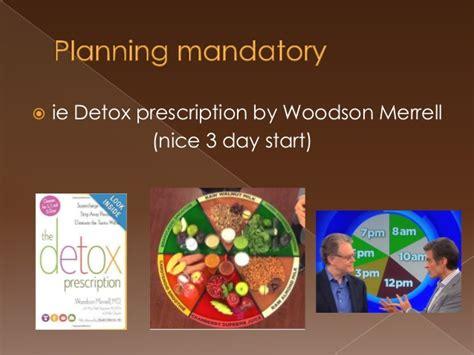 Woodson Merrell 3 Day Detox by Drric Detoxing 2014