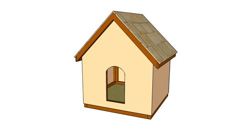 big dog house plans lean to dog house plans