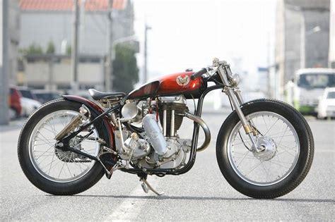 Motorrad Mieten England by Umbau Heiwa Matchless One Piece
