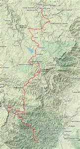 carte du gr 70 chemin de stevenson yves duval photo
