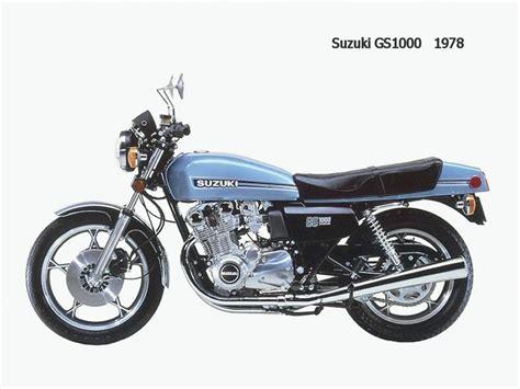 1978 Suzuki Gs1000 1978 Suzuki Gs1000 Classic Japanese Motorcycles