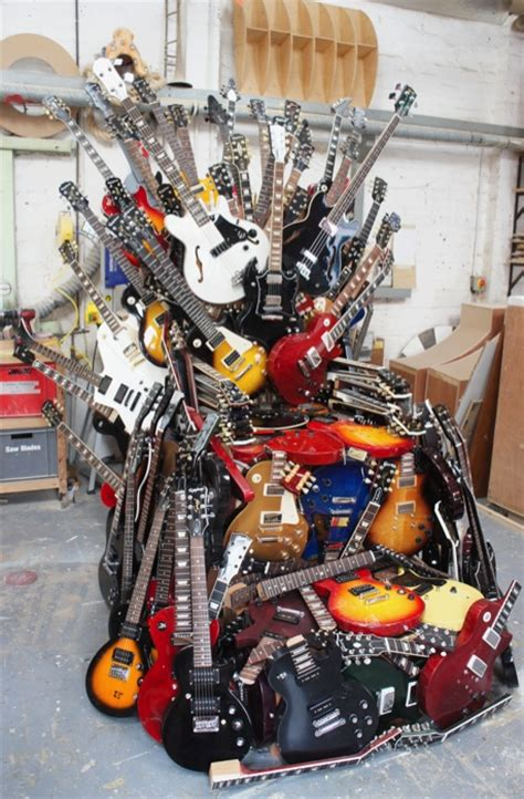 plunge productions gibson throne  guitars