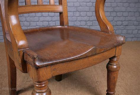 large oak desk armchair c 1910 antiques atlas