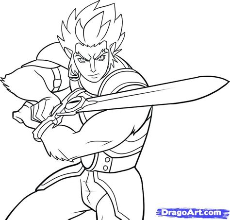 thundercats coloring pages how to draw lion o thundercats lion o step by step