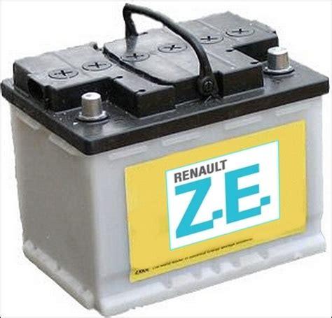 le a batterie renault ze le constructeur s engage 224 louer les batteries 224 tout acheteur d une voiture