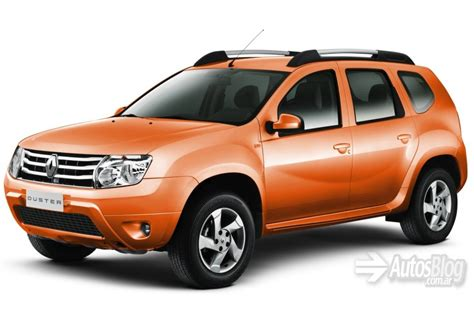 renault orange two bizarre colors for the argentinian renault duster