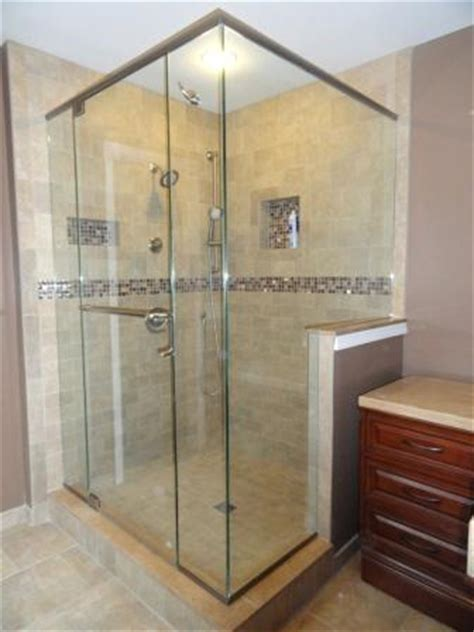 shower niche  storage  design  jersey bathroom